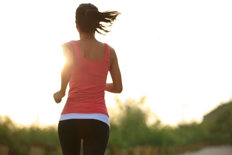 runner sunrise