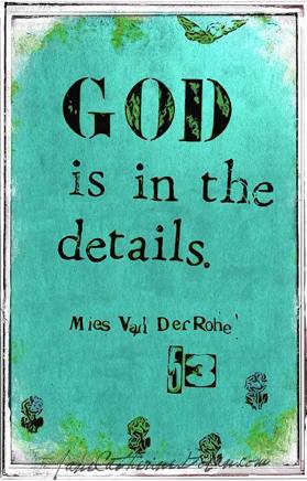 god-in-details